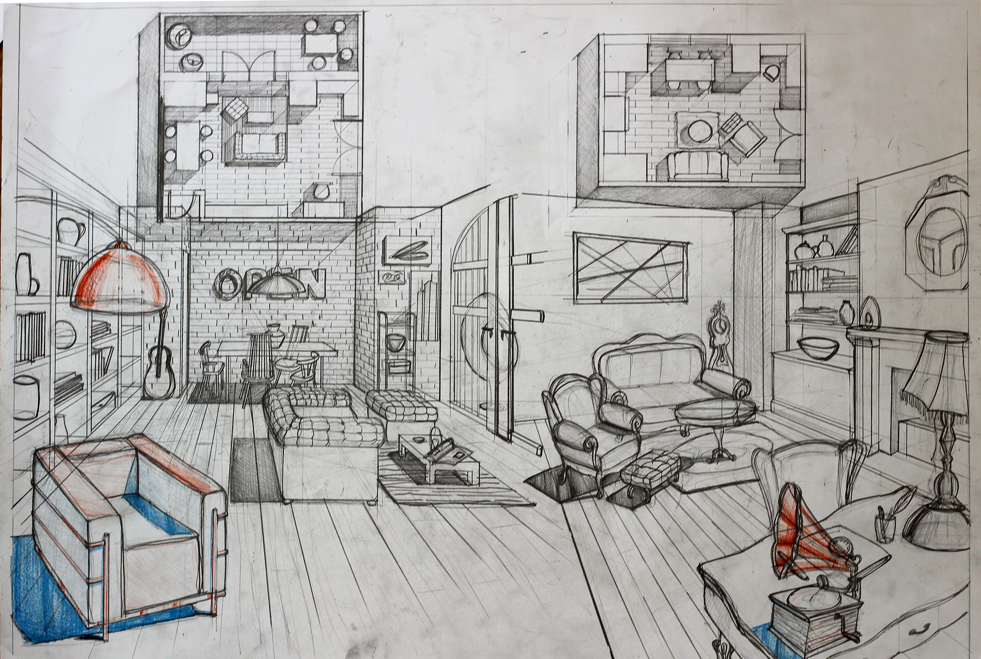 90 Interior Design Drawing Tips The interior design drawing tips