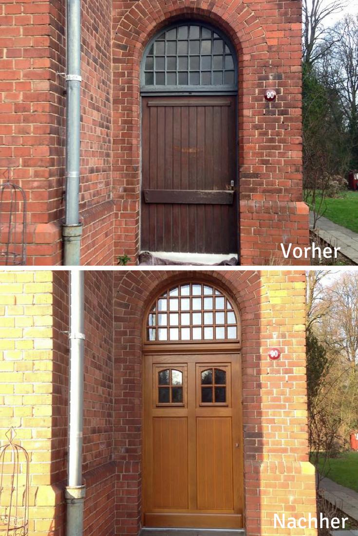 Rekonstruktion Einer Klassischen Haustür In Einem Denkmalgeschützen Haus.  Oberlicht Von Sorpetaler. Mehr Haustüren Gibtu0027s