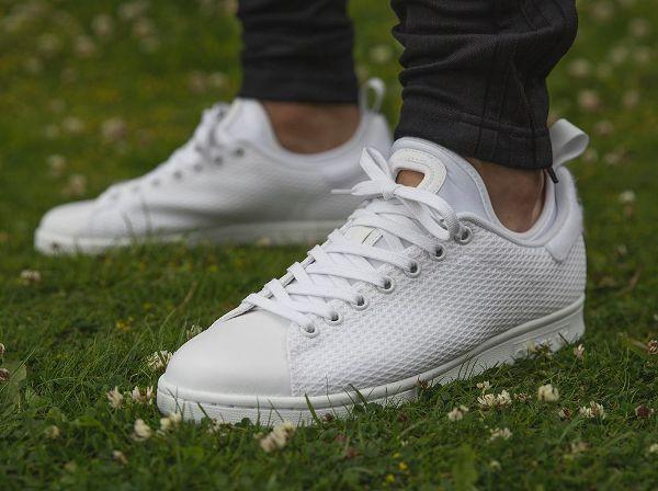 buy online c249e 1b973 Découvrez la Adidas Stan Smith Tournament Edition 3.0 White, une sneaker en mesh  aéré blanc
