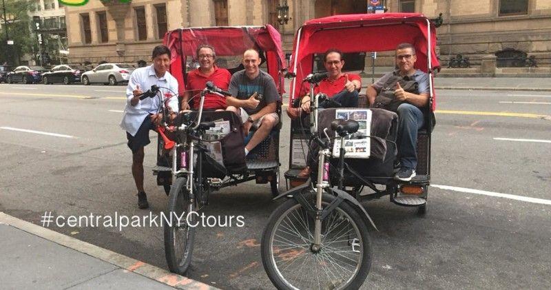 Central Park Pedicab Tours Central Park Tours Bike Rentals