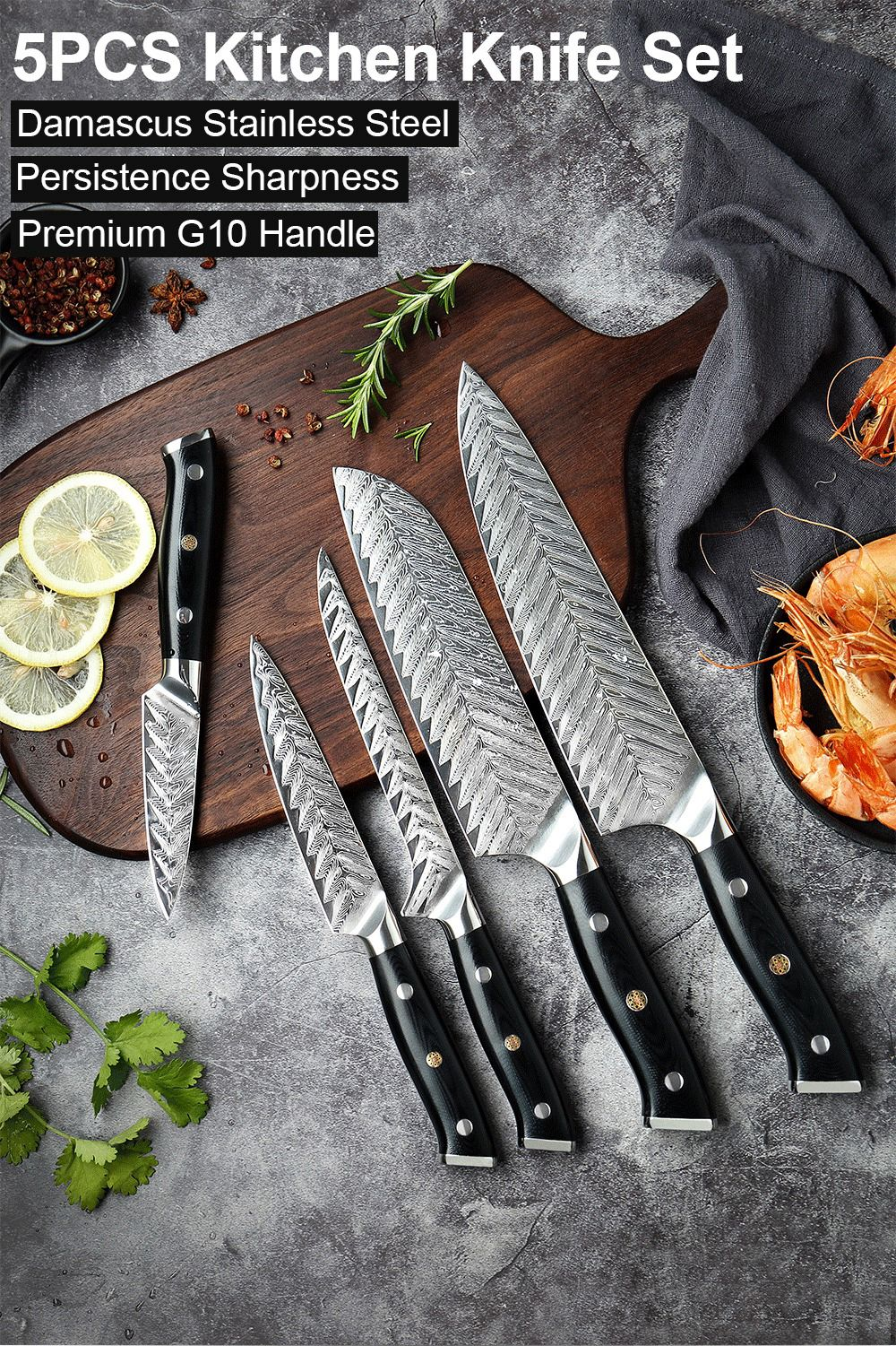 Pin On Damascus Chef Knife