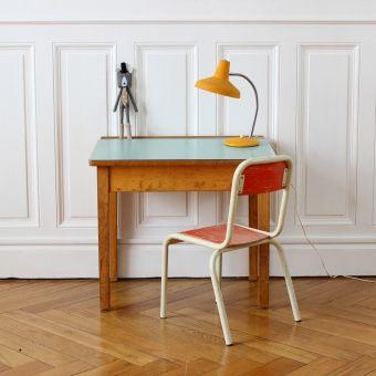 vintage kinderburo Chaise et Bureau enfant lesenfantsdudesign