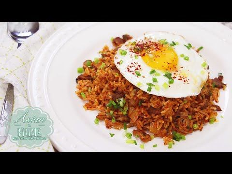 How to make kimchi fried rice youtube food pinterest how to make kimchi fried rice youtube ccuart Image collections