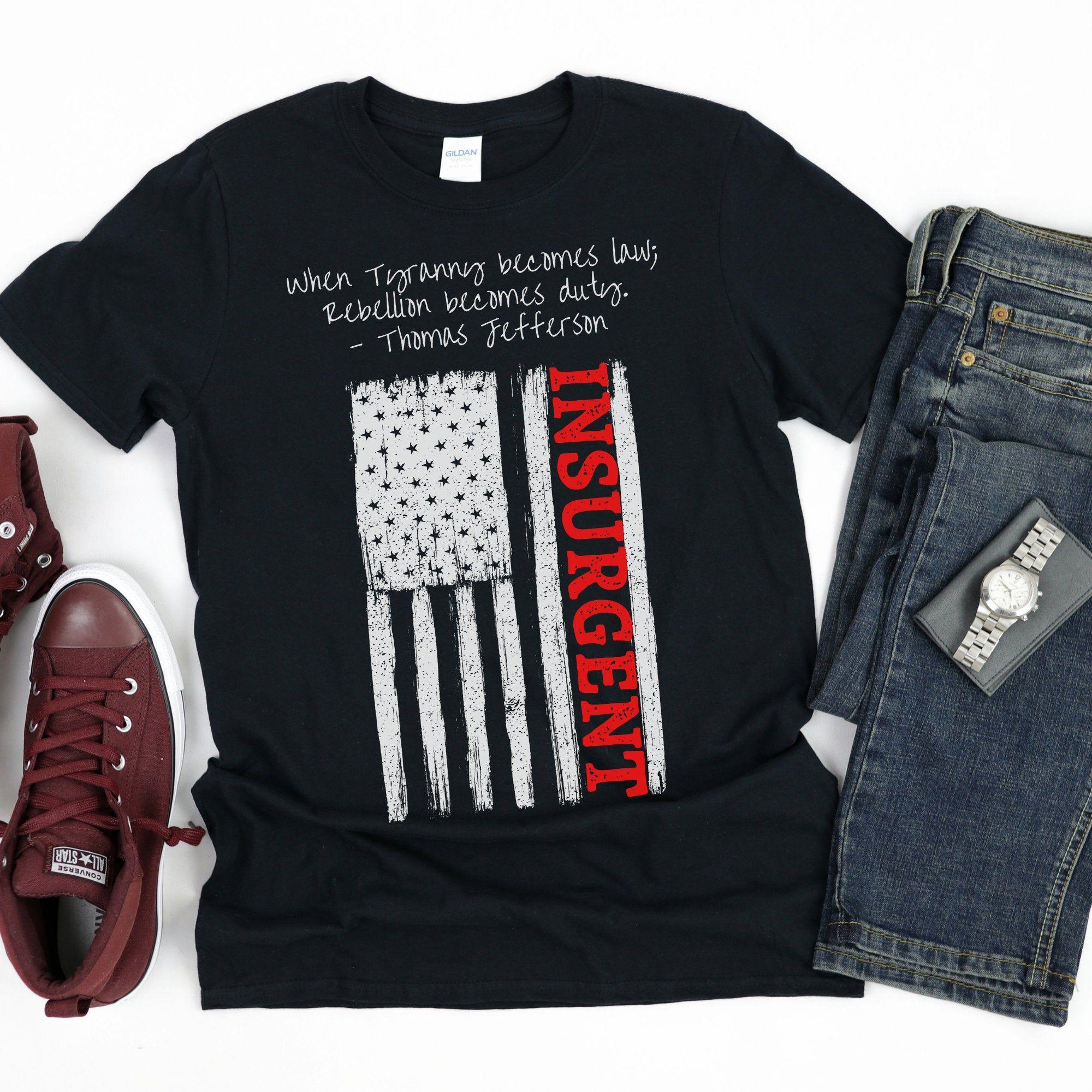 Insurgent Shirt Free Speech Shirt Anti Censorship Anti Etsy In 2021 Speech Shirts Free Shirts Republican Tees
