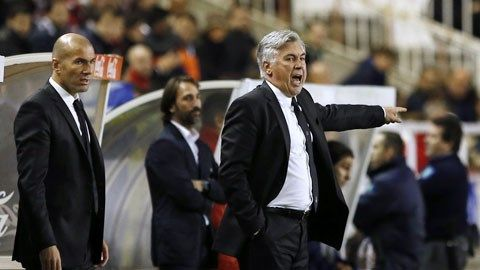 """Ancelotti và bài toán lực lượng ở Real: Ance khó """"ăn 3""""! - 360 độ Thể Thao"""