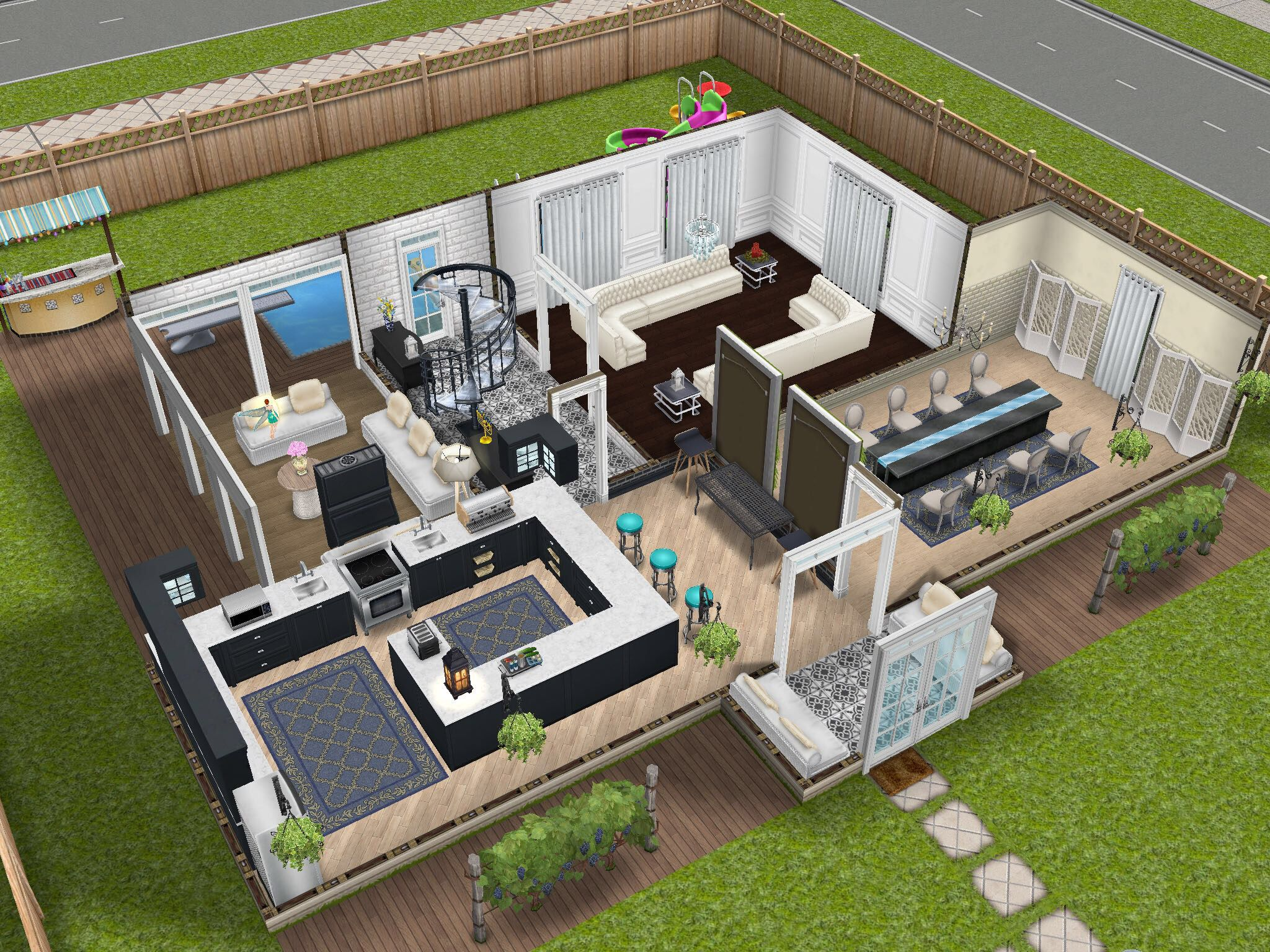 Home Sweet Home Jenniethompsontown Simsfreeplay Sims House Sims House Design Sims Building