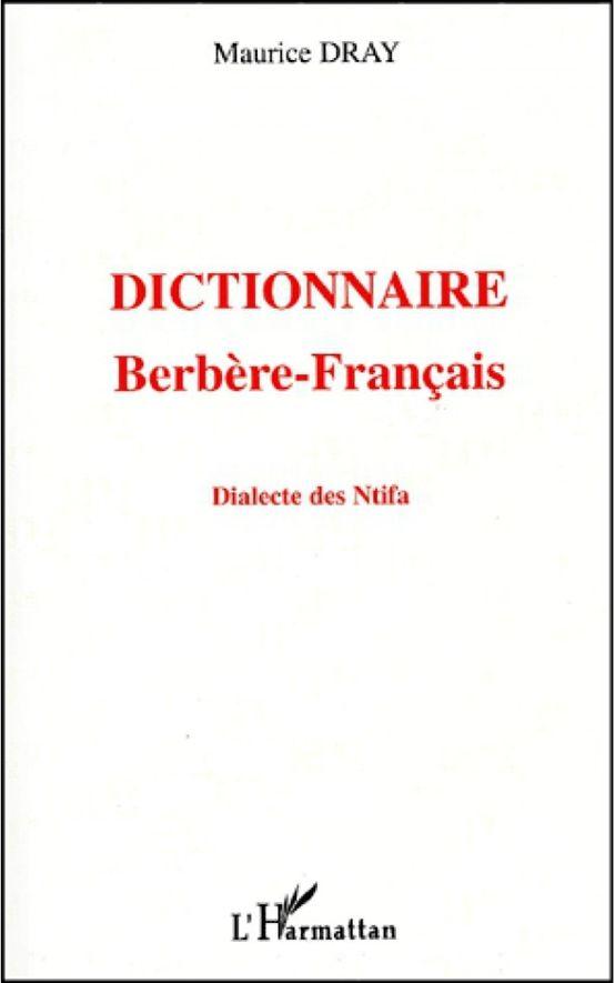 Dictionnaire berbère-français : dialecte des N'tifa