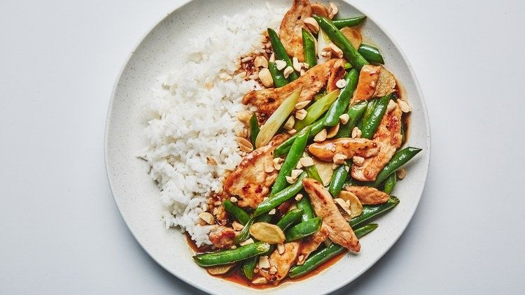 Photo of Chicken and Green Bean Stir-Fry Recipe