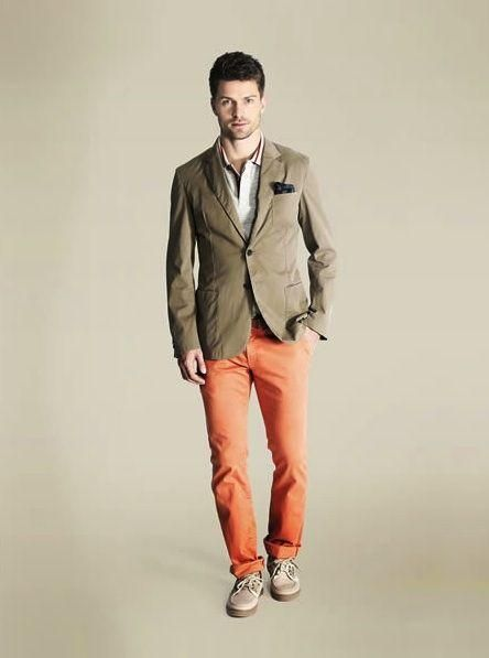 men salmon pants - Google Search | groomsmen | Pinterest | Pants ...