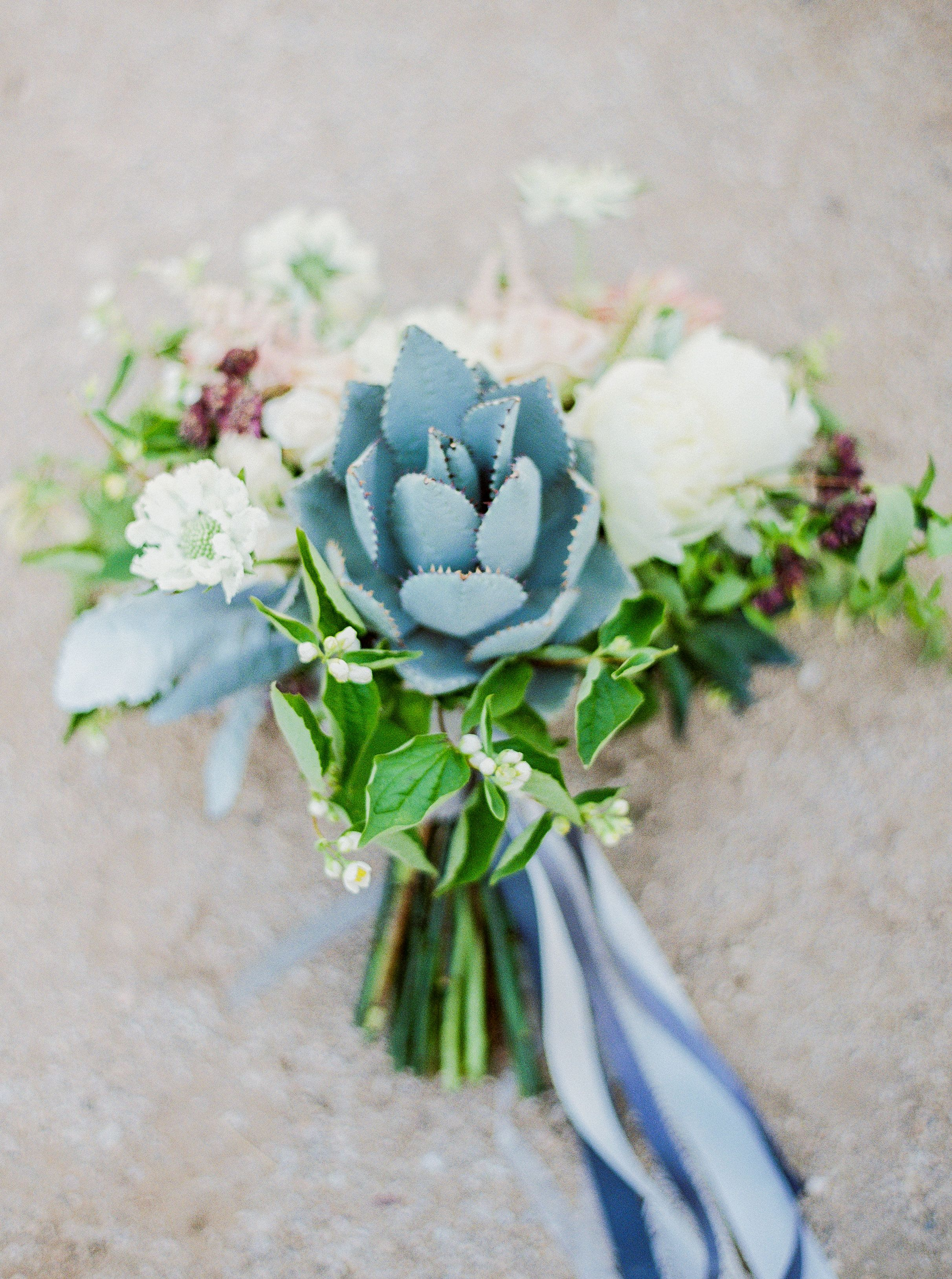 Agave Bouquet Floral Decor Atelier De Lafleur Photography
