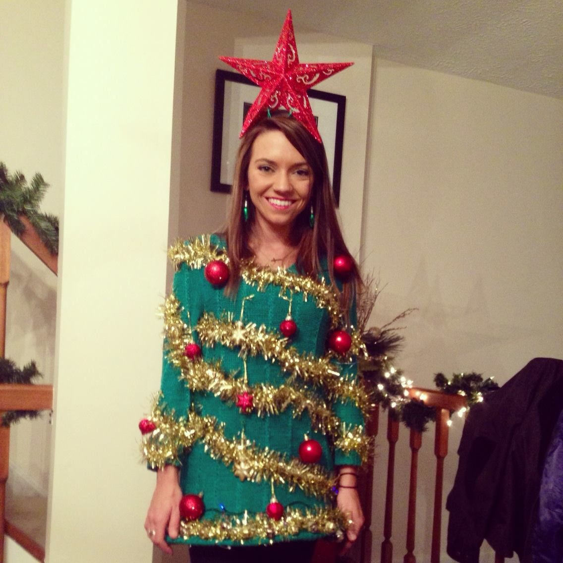 Ugly Christmas Sweaters Pinterest.Ugly Christmas Sweater Diy Thanks To Pinterest Ugly