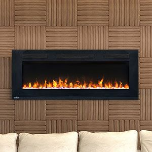 Napoleon 42-In Allure Wall Mount Electric Fireplace - NEFL42FH ...