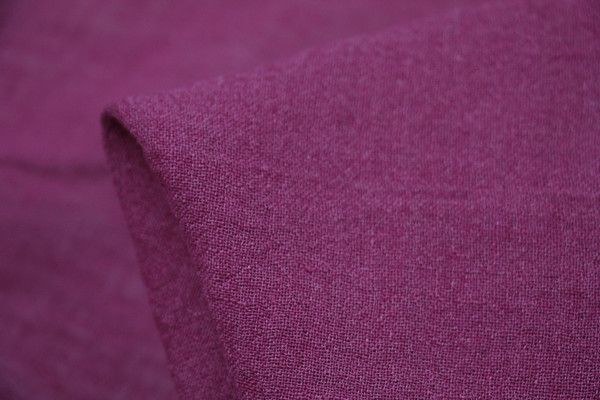 Grape Crinkle - Linen Blend - Tessuti Fabrics - Online Fabric Store - Cotton, Linen, Silk, Bridal