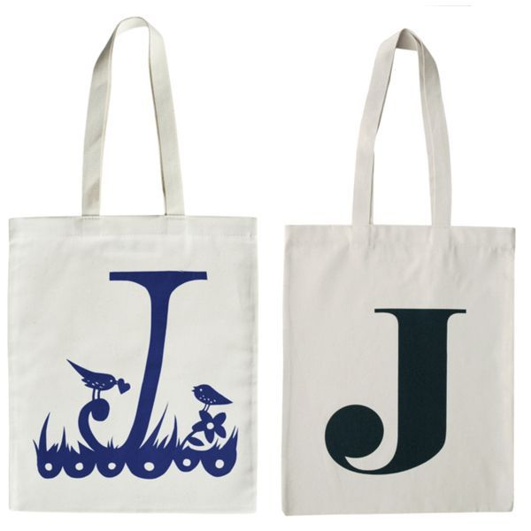 Alphabet Totes for Kids (or, better yet, for end-of-year teacher gifts)