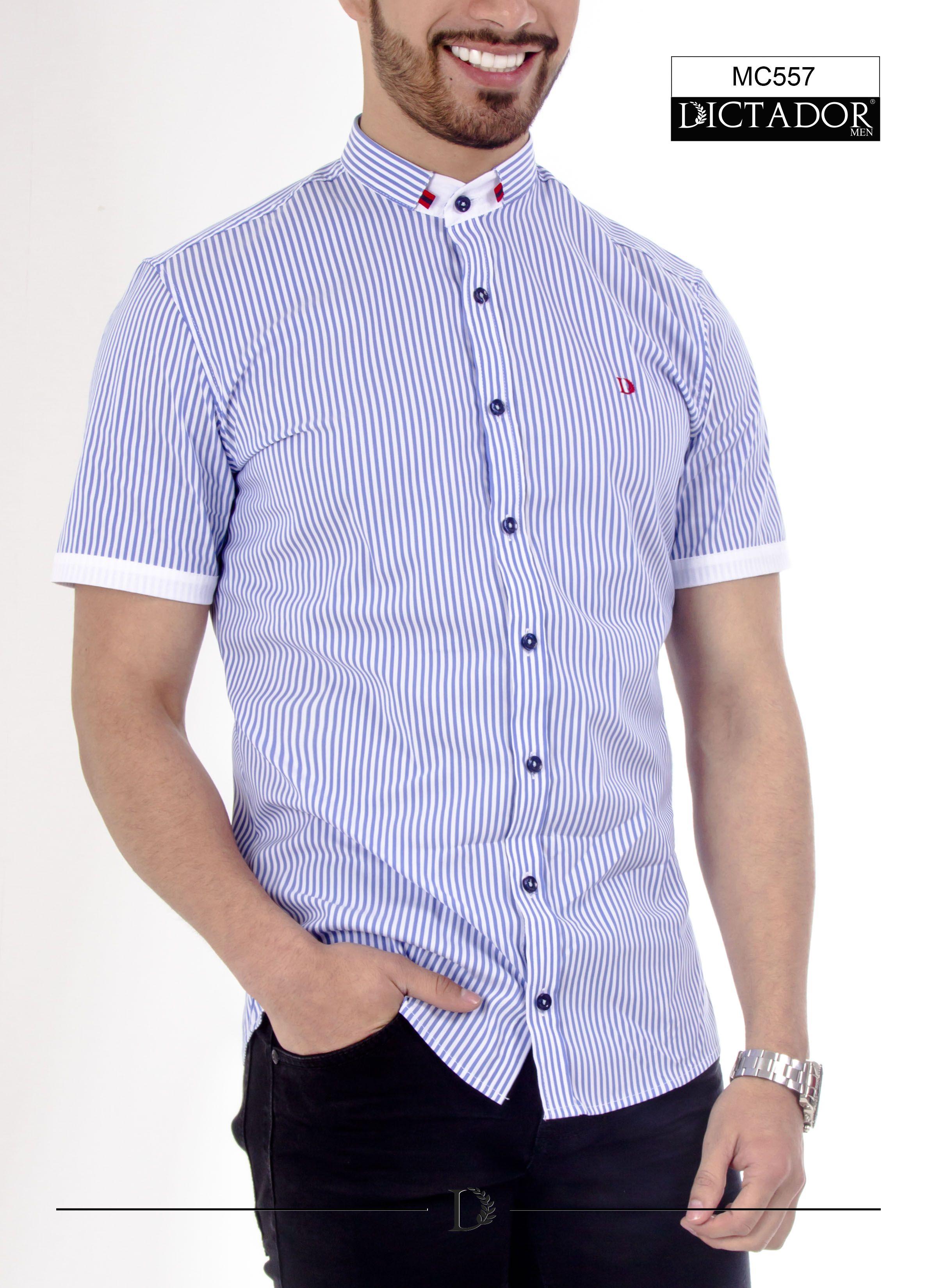 Una camisa con líneas delgadas te da un look casual que quieres para hoy. 46b2deeb5a63e