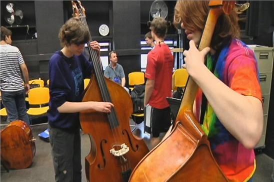 Young Bassists in The News in Rochester