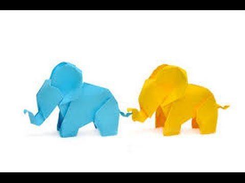 How to fold an AXA Origami Elephant - YouTube | 360x480