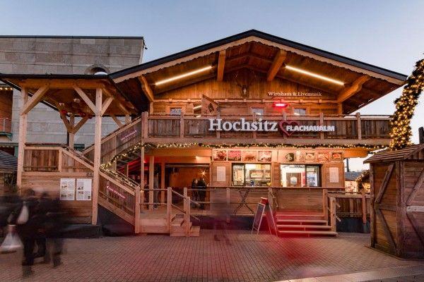 Der FlachauAlm Hochsitz am CentrO Bergweihnachtsmarkt