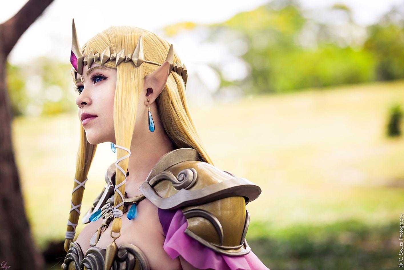Queen zelda from hyrule warriors by layzemichelle deviantart com on deviantart