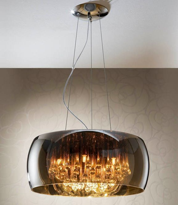 SUSPENSION ARGOS | Glass pendant light, Replacement glass ...