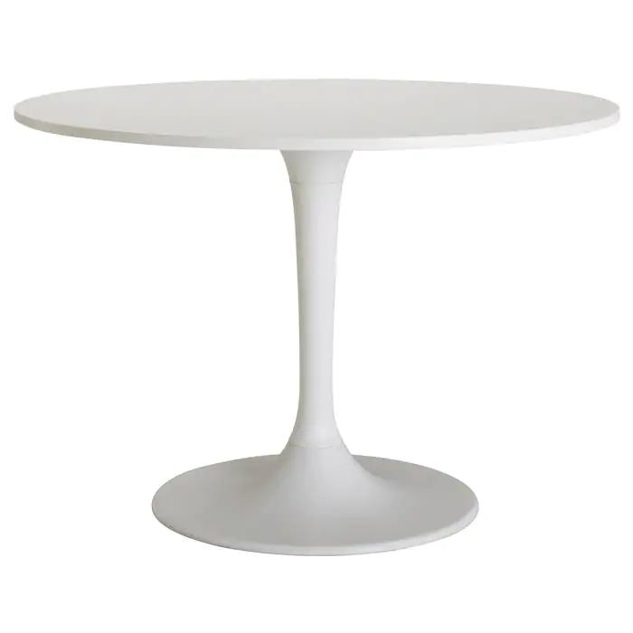 Docksta Table Blanc Blanc Ikea Table Ronde Cuisine Salle A Manger Ikea