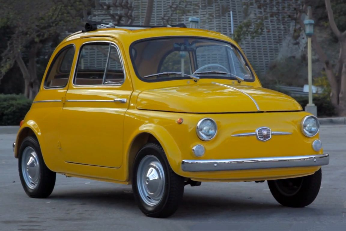 Petrolicious Shares A Ray Of Sunshine With A 1964 Fiat 500d Fiat