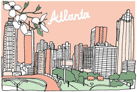 Yes i love the atlanta art but this article is all the - Affordable interior design atlanta ...