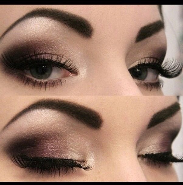 Dramatic Brown Smokey Eye Makeup Look Your Face Is A Canvas