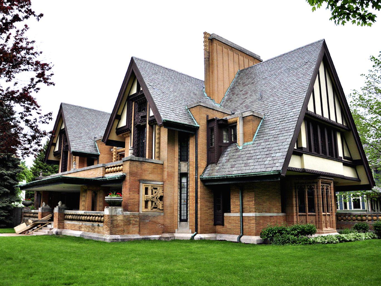 Exploring Frank Lloyd Wright S Oak Park Frank Lloyd Wright Architecture Moore House Frank Lloyd Wright Oak Park