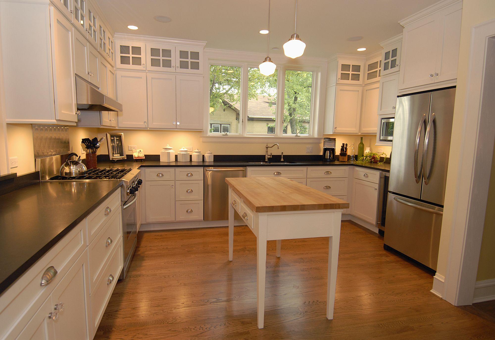 Bungalow U/C-shaped kitchen example | Architecture ...