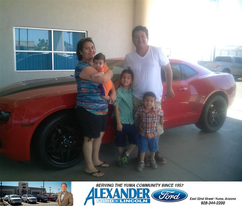 Congratulations To Jose Luis Almazan On Your Chevrolet Camaro