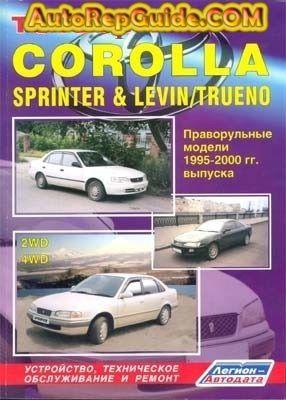 download free toyota corolla sprinter corolla levin sprinter rh pinterest com 2001 Corolla 2000 toyota corolla service manual