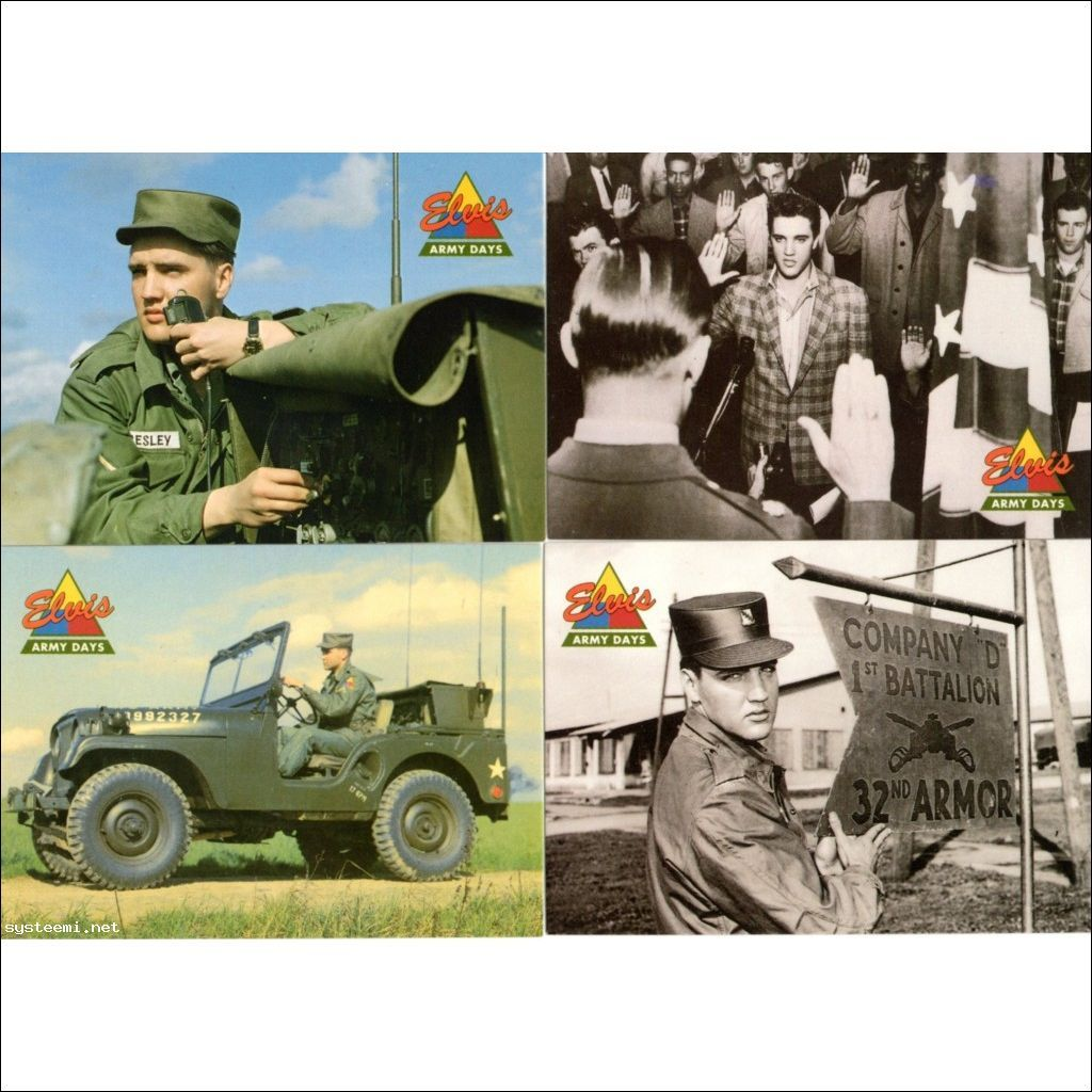 Elvis Army postikortit
