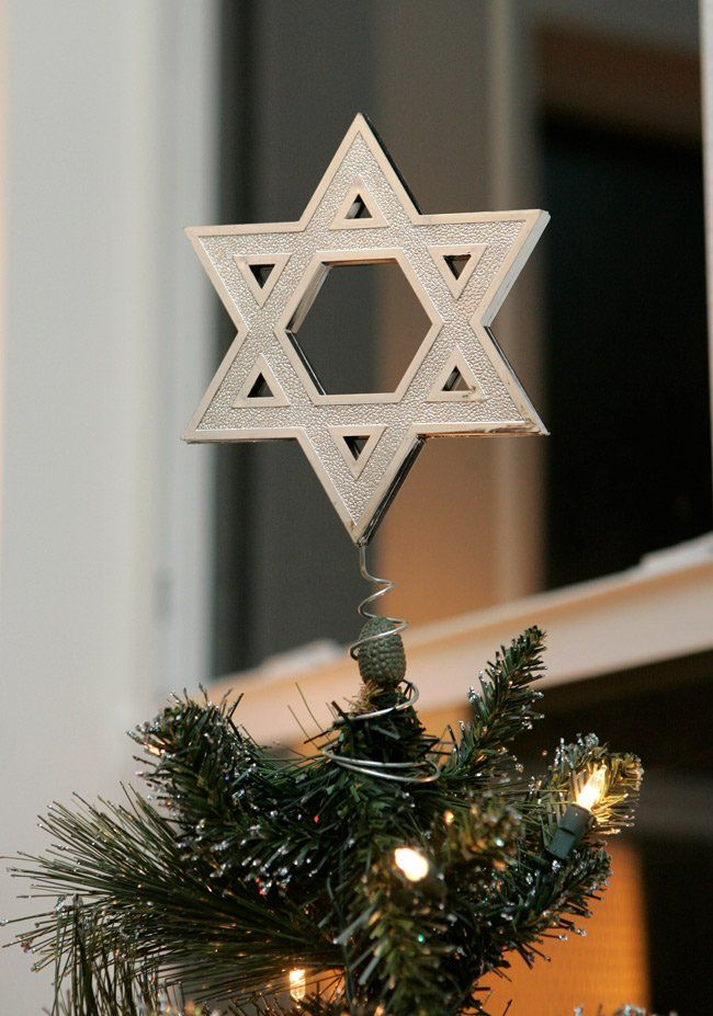 Simple holiday decor with a nod to Jewish heritage. #Interfaith ...