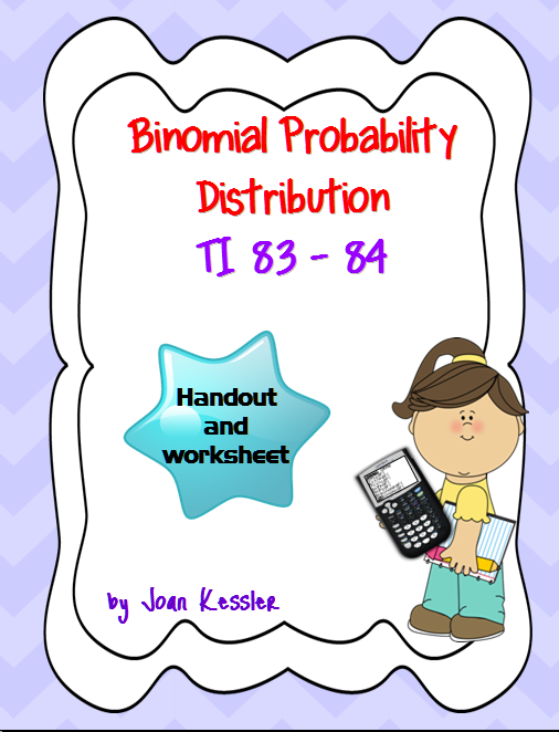 This easy to follow handout helps you teach your students how to – Binomial Distribution Worksheet