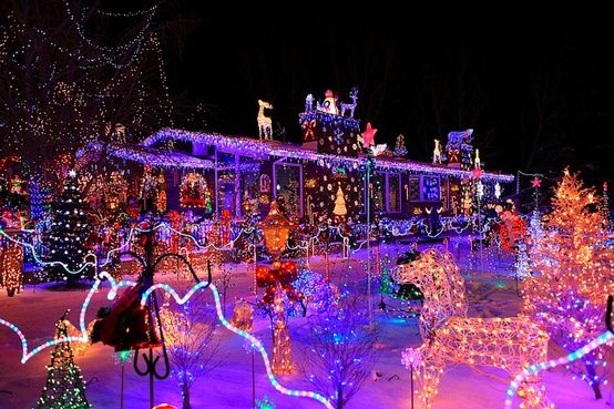 247 best christmas solar images on pinterest christmas ideas holiday lights and christmas lights - Cool Christmas Light Ideas