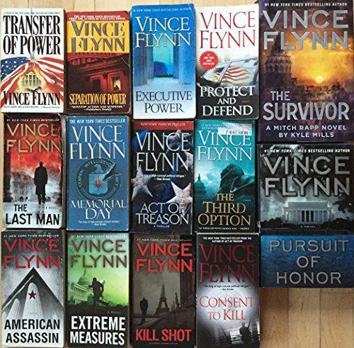 Ch Rapp Complete Series Set By Vince Flynn 14 Novelsincludes Transfer Of Power Separation Of Power Executive Power Protec Vince Flynn Mitch Rapp Free Novels