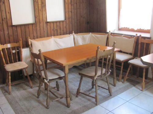 Eckbank-Gruppe-Sitzgruppe-Stuhl-Tisch-Bank-Essecke-Sitzbank - eckbänke für küchen