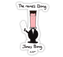 James Bong Sticker