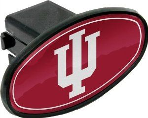 One Size Black Great American Products NCAA Indiana Hoosiers Hitch Cover Helmet