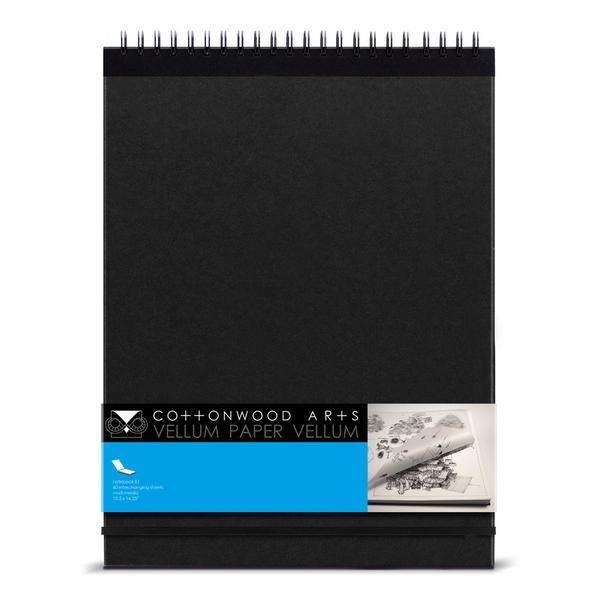 E1 Vellum Paper Notebook 11x14 Listas De Desejos Papelaria