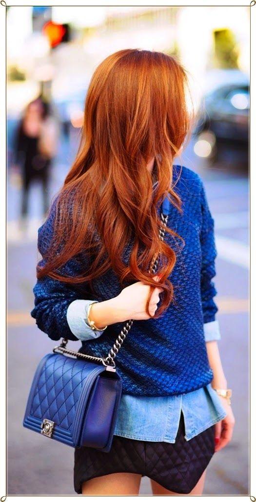 glamour se rote haare frisuren haare pinterest rotes haar rot und haar. Black Bedroom Furniture Sets. Home Design Ideas