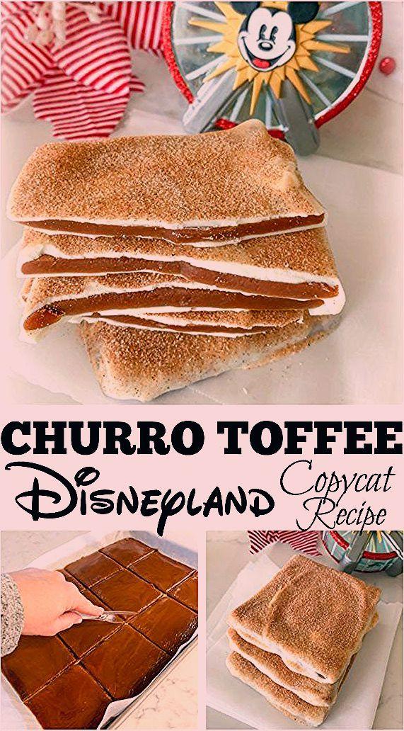 Photo of Churro Toffee Disneyland Copycat Recipe