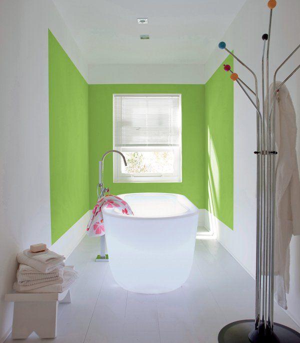 7 nuances de vert pour habiller nos murs | Marie claire maison, Les ...