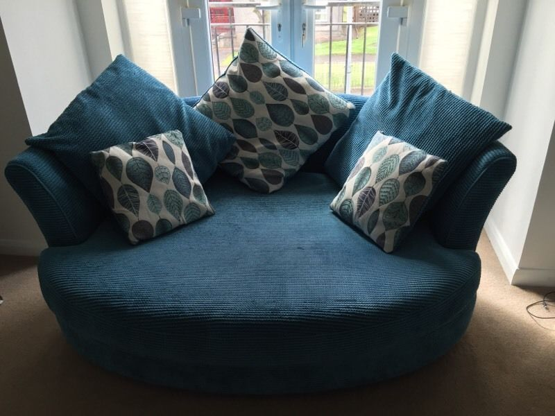 Dfs Teal Corner Sofa Cuddle Chair In Very Good Condition Comes From A Smoke Pet Free Home Ava Teal Corner Sofas Cuddle Chair Corner Sofa And Cuddle Chair