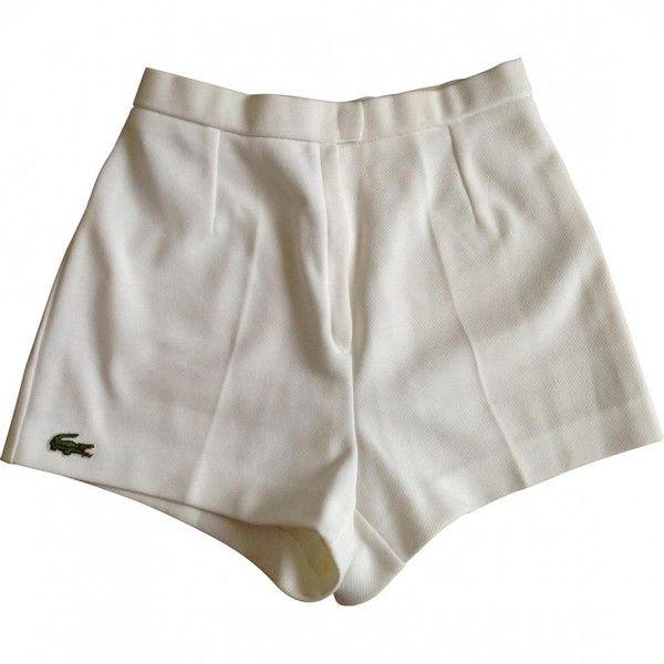 shorts lacoste feminino