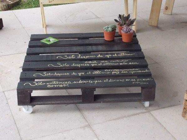 palettes en bois ides de bricolage de meubles - Meubles En Palettes De Recup