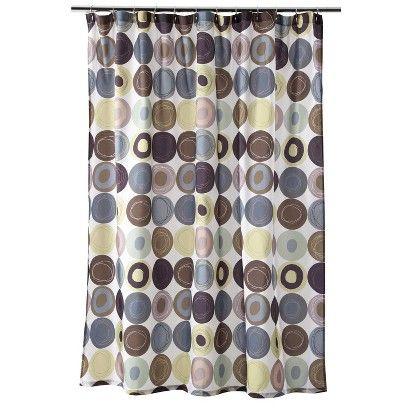Wonderful Dot Swirl Shower Curtain