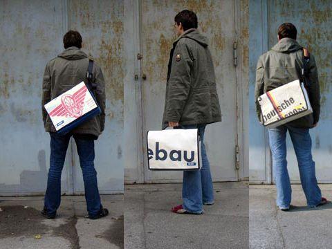 KULTBAG // Umhängetaschen / Laptoptaschen / Sporttaschenund Accessoires aus verschiedenen recycleten Materialien - made in Germany