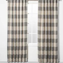 38f0fe81fb140edb86dea772c611c217 - Better Homes And Gardens Checked Plaid Curtain Panel